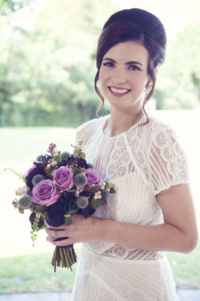 bridal hair photoshoot
