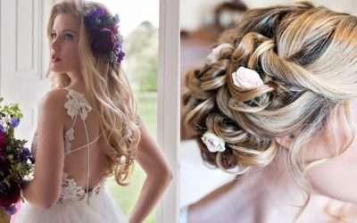 2018's 'Trending' Wedding Hairstyles