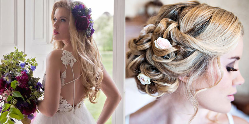 2018's 'Trending' Wedding Hairstyles