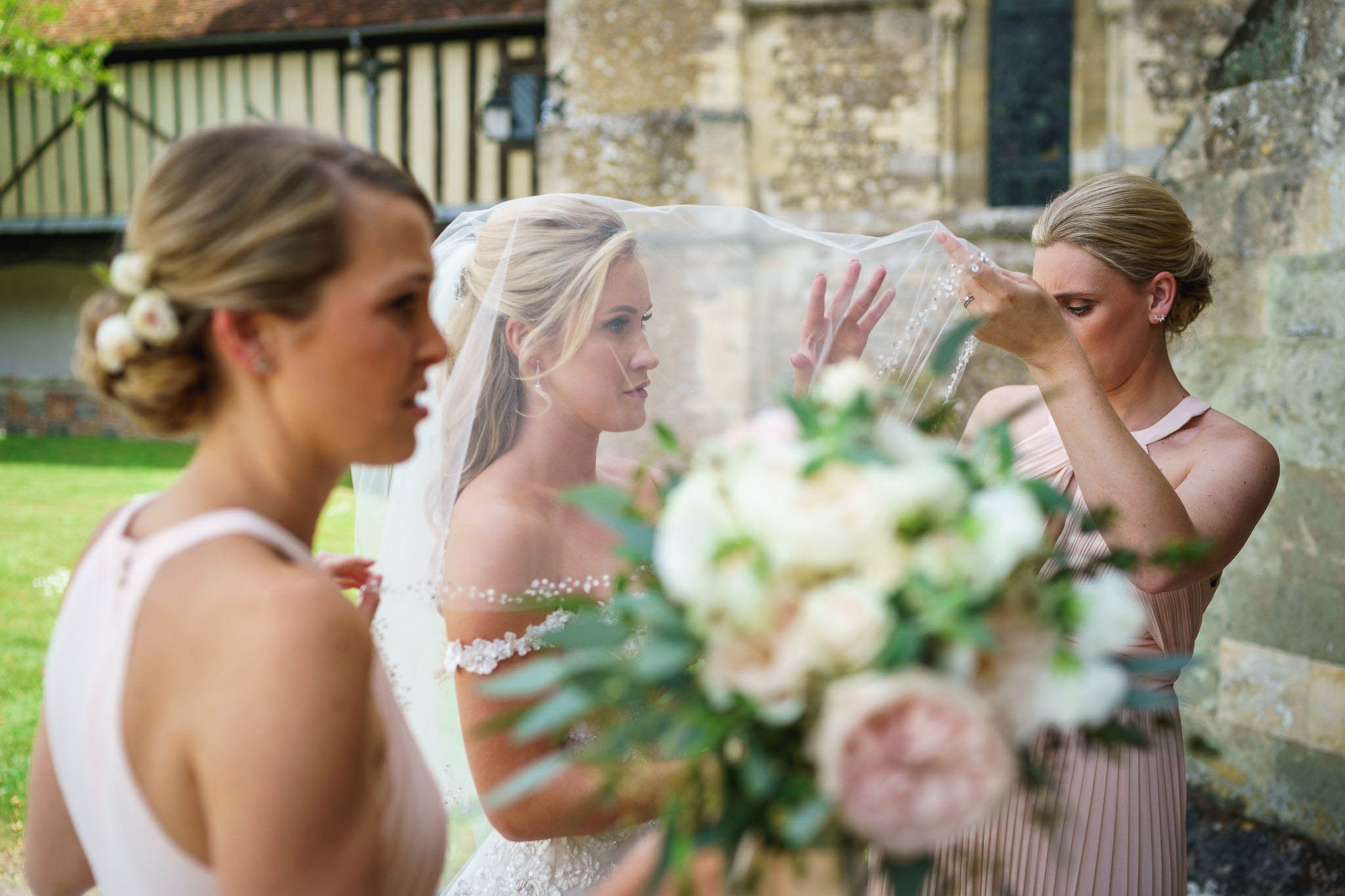 Our portfolio photos from some of our beautiful clients. Special bridal moments