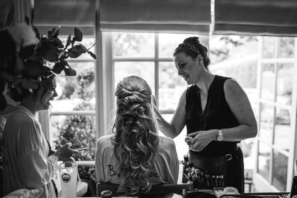 Bridal hair design by Bridal Hair in Hampshire