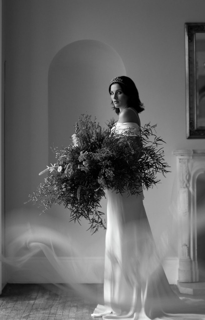 Bridal photoshoot with Bella West Photography
