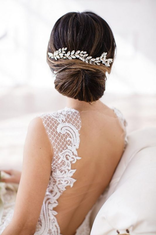 Brides and Hairpins Abrielle Halo Comb