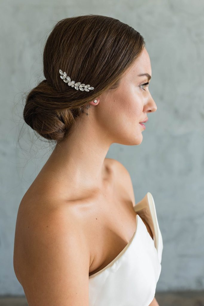 Brides and Hairpins Amber Comb