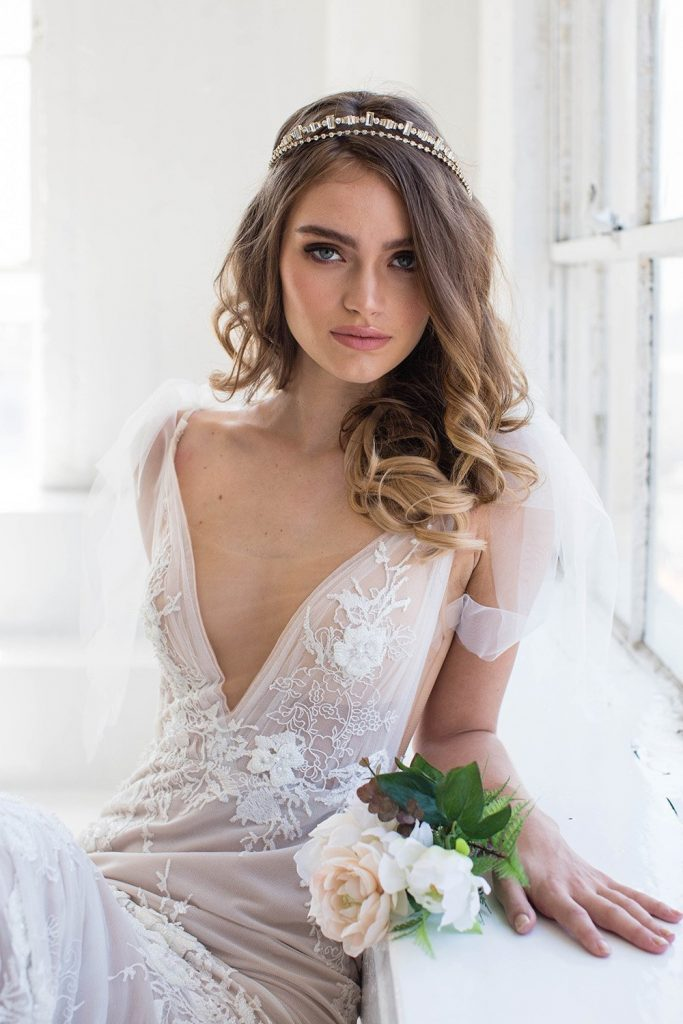 Brides and Hairpins Amora Crown