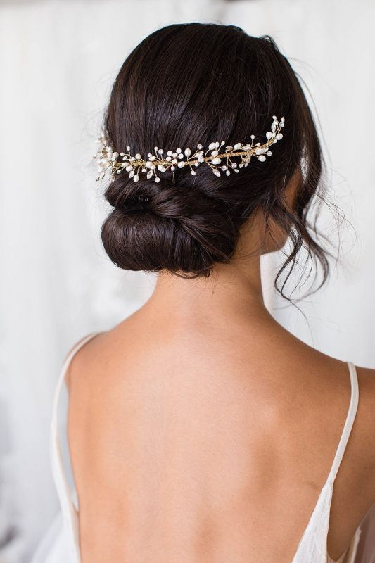 Brides and Hairpins Leda Halo Comb