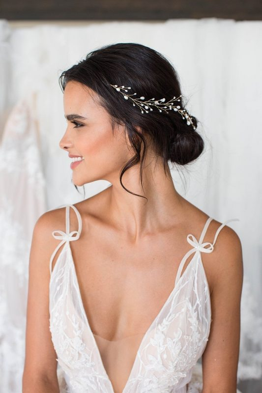 Brides and Hairpins Leona Halo Comb