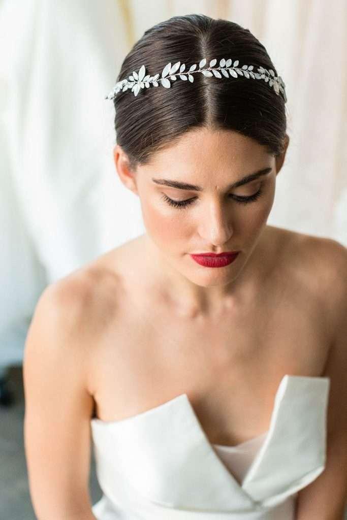 Brides and Hairpins Paris Halo