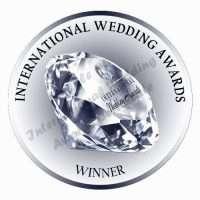 International Wedding Awards International Winner Badge