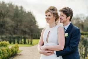 Rhinefield House bride and groom