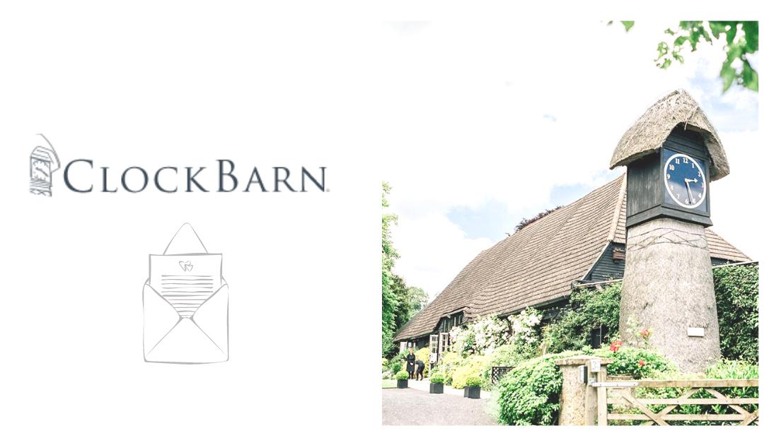 Featured Wedding Supplier: Clock Barn