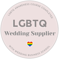 Bridal Hair in Hampshire is an LGBTIQ Friendly Wedding Supplier