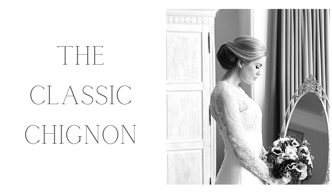 Bridal Hairstyles: Classic Chignon