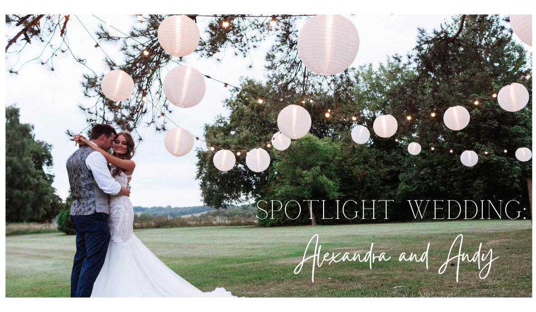 Spotlight Wedding: Alexandra and Andy