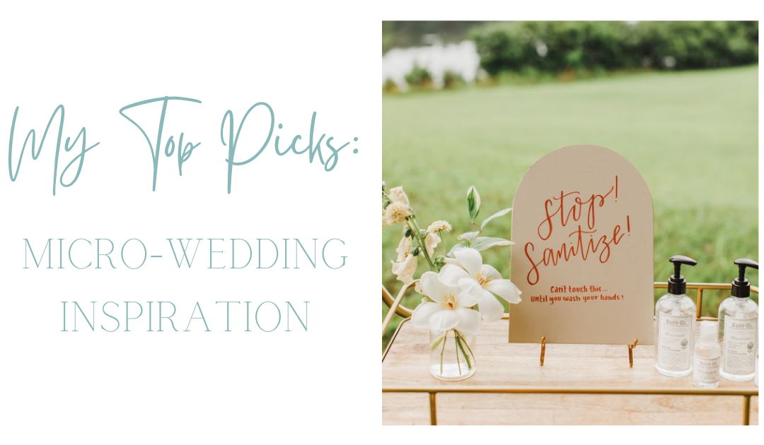 My Top Picks: Micro-Wedding Inspiration from Pinterest