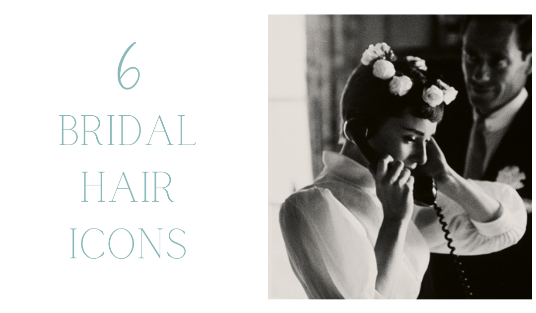 6 Bridal Hair Icons